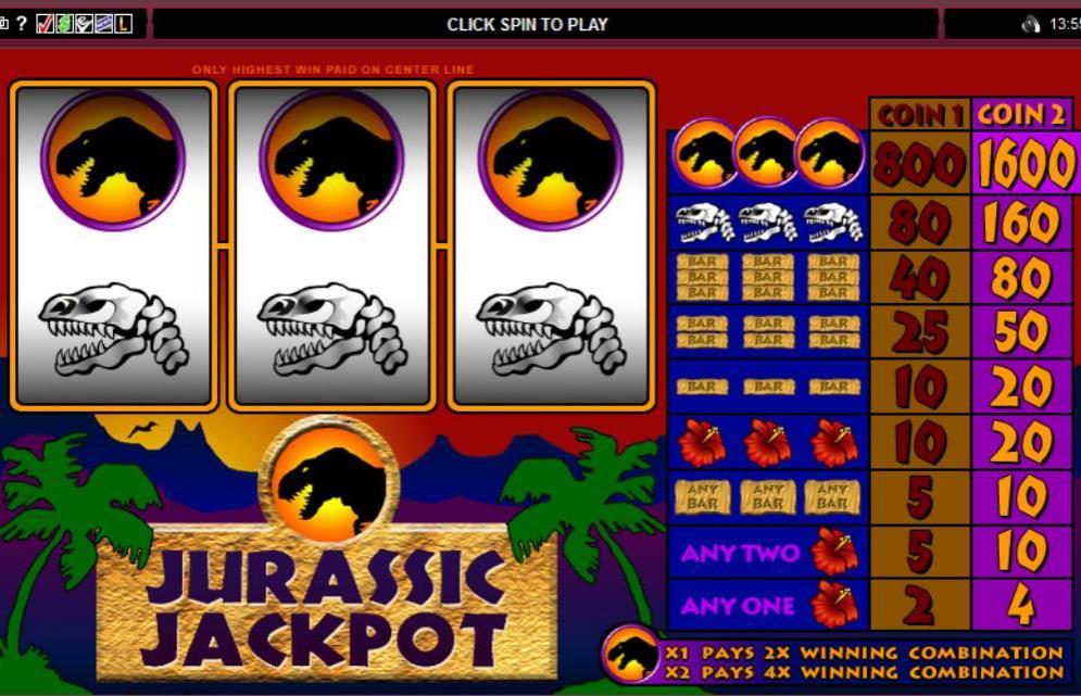 Jurassic Jackpot: Receive Jackpot from Lizards