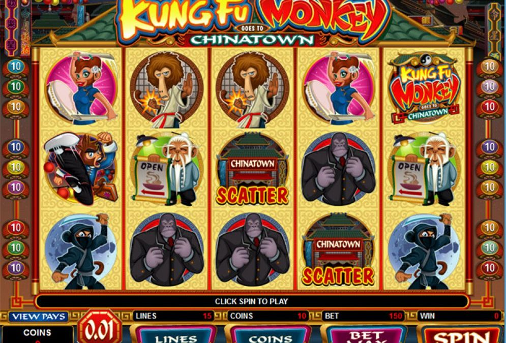 Kung Fu Monkey Your Cash Pet